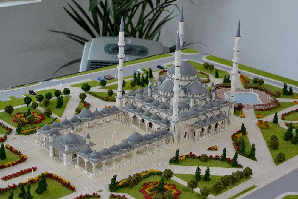 1---Gudermes Camii - BORA İNŞAAT / Çeçenistan - RUSYA 2012