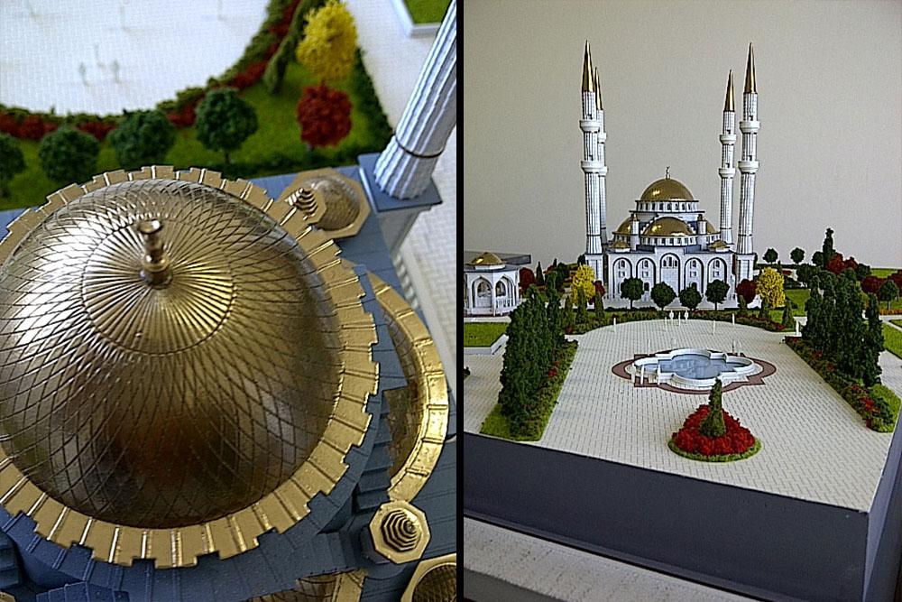 1---Geldigen Camii - BORA İNŞAAT / Çeçenistan - RUSYA 2013