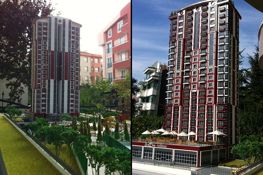 Goccina Residence - ROKET İNŞAAT / Ankara - TÜRKİYE 2012
